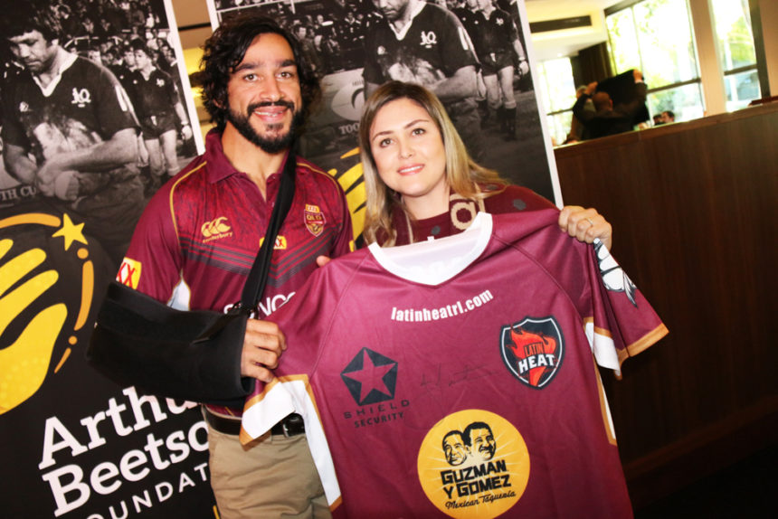 Thurston supports Latin American Championships