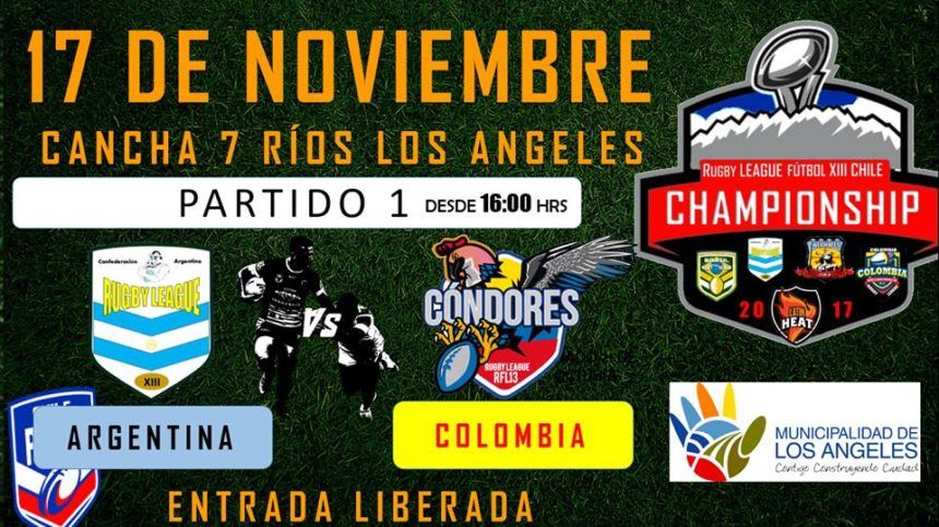 Argentina, Brazil, Colombia name Rugby League Squads for LatAm Championships