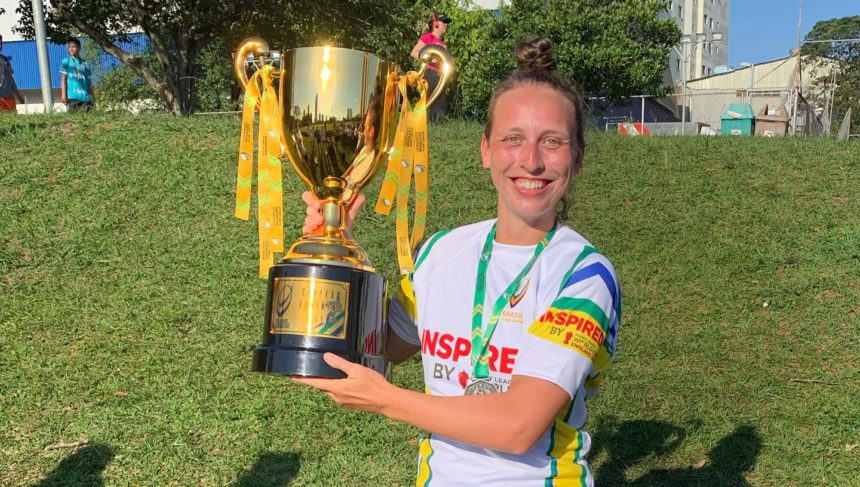 """I fell in love"": Brasil's Margrith Weiss and the Rugby League World Cup draw"