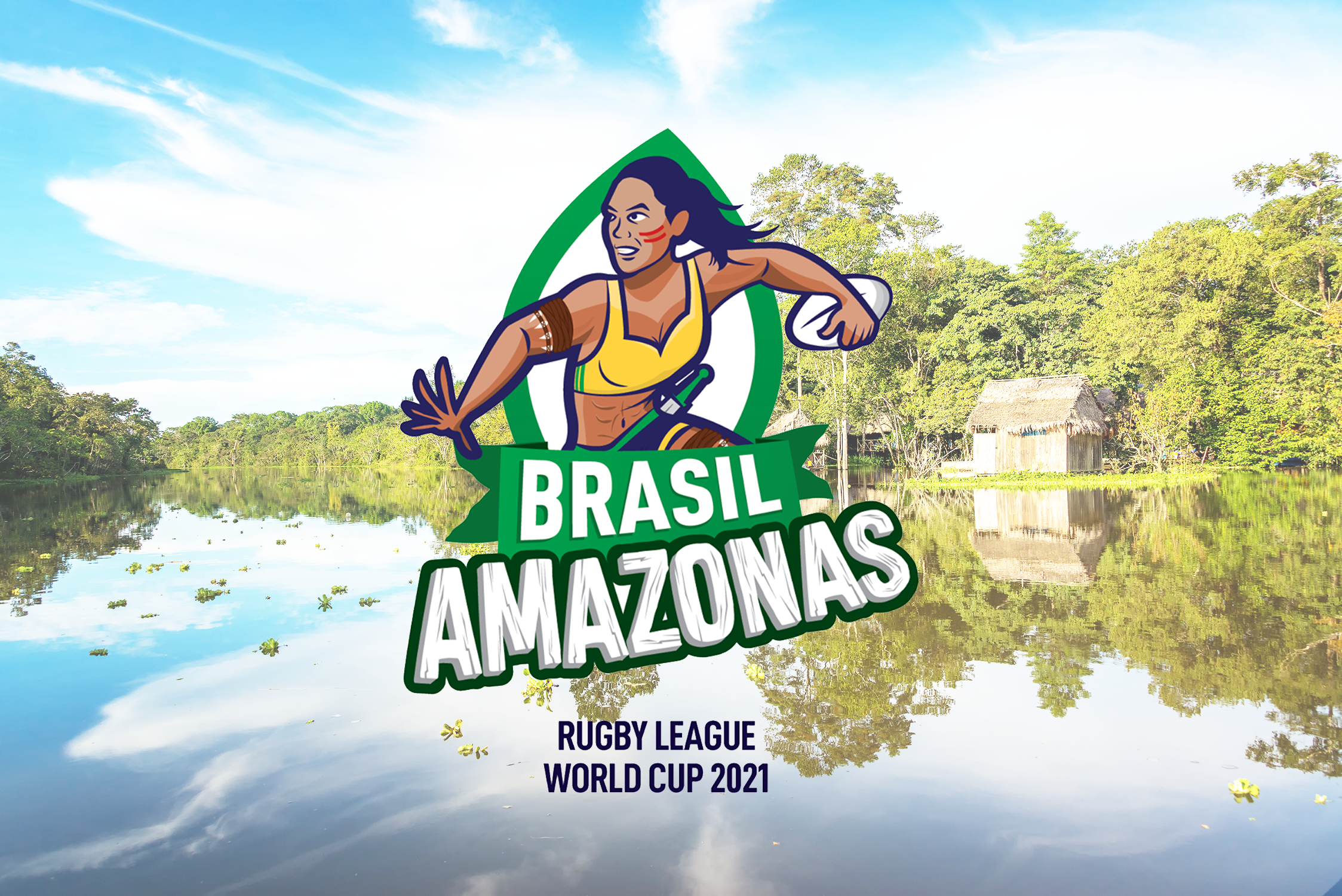 Logo for Brasil Rugby League World Cup team